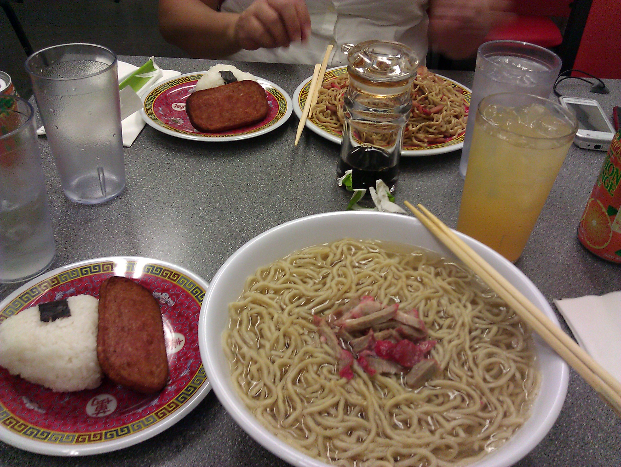 ParkRat and @mel808 FoodPosse Eat at The Old Saimin House