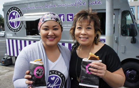 Hawaii: IRL – Melissa Chang Stops by the Newest Food Truck Whatchafillin! (@melissa808 @whatchafillin)