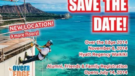 2014 Over the Edge for Special Olympics Hawaii Live on November 8, 2014 at the Hyatt Regency Waikiki (@sohawaii)