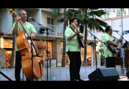 Edelweiss by Ho'okena at Na Mele No Na Pua – Music for the Generations at Waikiki Beach Walk on April 12, 2015