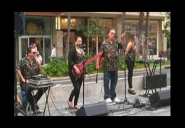 Na Mele No Na Pua with Kapena at Waikiki Beach Walk  Recorded June 21, 2015