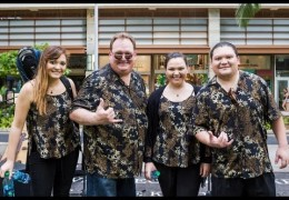 Na Mele No Na Pua with Kapena Live at Waikiki Beach Walk Recorded on September 20, 2015