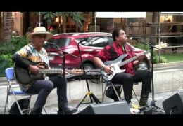 Na Mele No Na Pua at Waikiki Beach Walk with Mike Kaawa and Friends Recorded on 5-29-16 (@waikikibeachwlk)